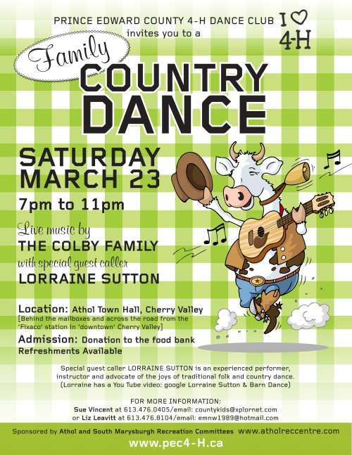 FINAL SQUARE DANCE POSTER