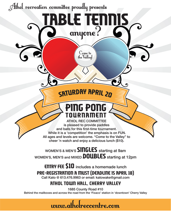 Table Tennis Tournament Invitation was Awesome Ideas To Create Fresh Invitation Sample
