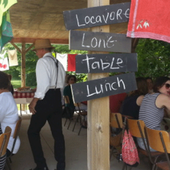 Locavore Lunch!