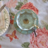 Dainty bone china.