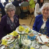 Lovely ladies from the Cherry Valley Women's Institute enjoy the afternoon.