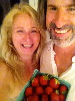 Susan and Glen Wallis our happy Strawberry Social Co-ordinators!