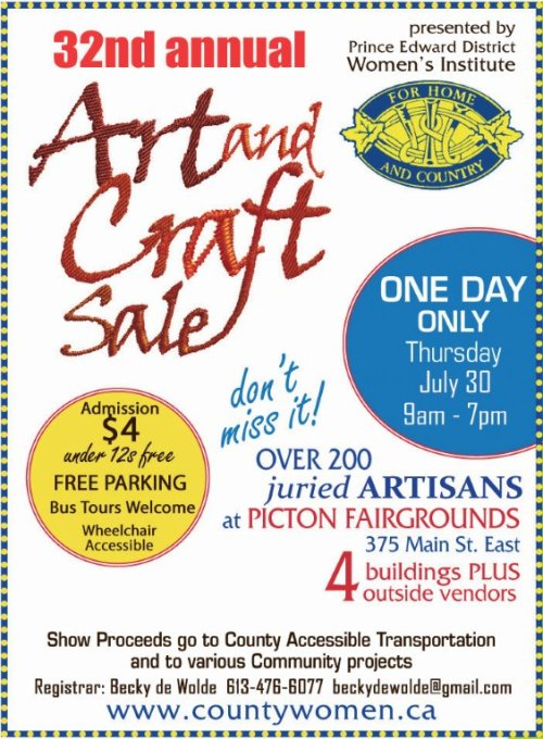 Womens Institute Arts and CraftsI July 2015 copy