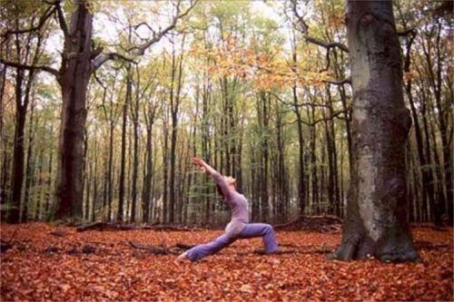 Fall-yoga