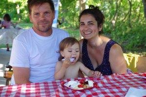 Robin, Gavin and family!