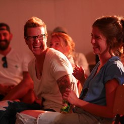We had our sponsors laughing up a storm. Photo Credit Ramesh Pooran