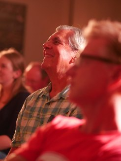 Audience members all smiles!Photo Credit Ramesh Pooran